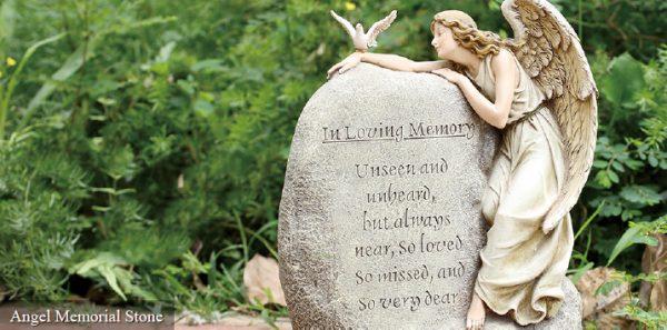 Angel Memorial Stone
