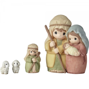Celebrate The Miracle At The Heart Of Christmas - Nesting Nativity Set