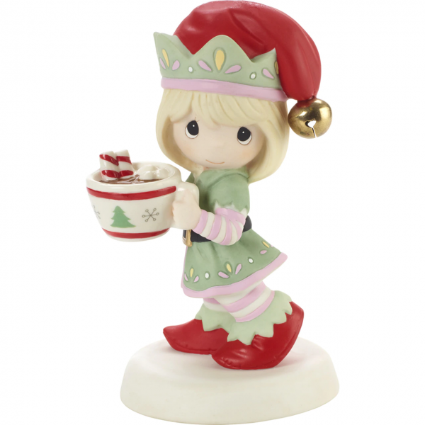 Cheers To A Sweet Holiday - Annual Elf Figurine