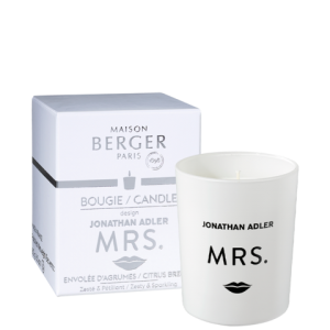 MRS. Citrus Breeze Scented Candle