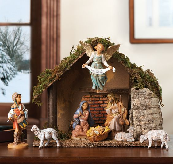 Nativity with Shepherd
