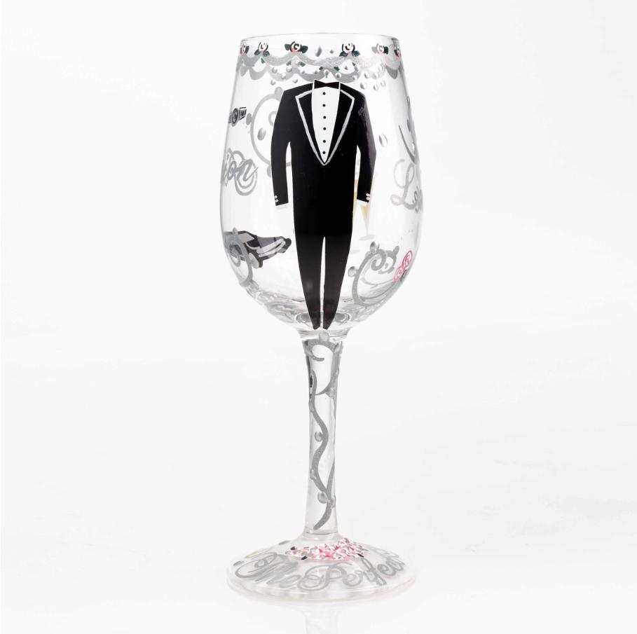 Groom, Wine glass